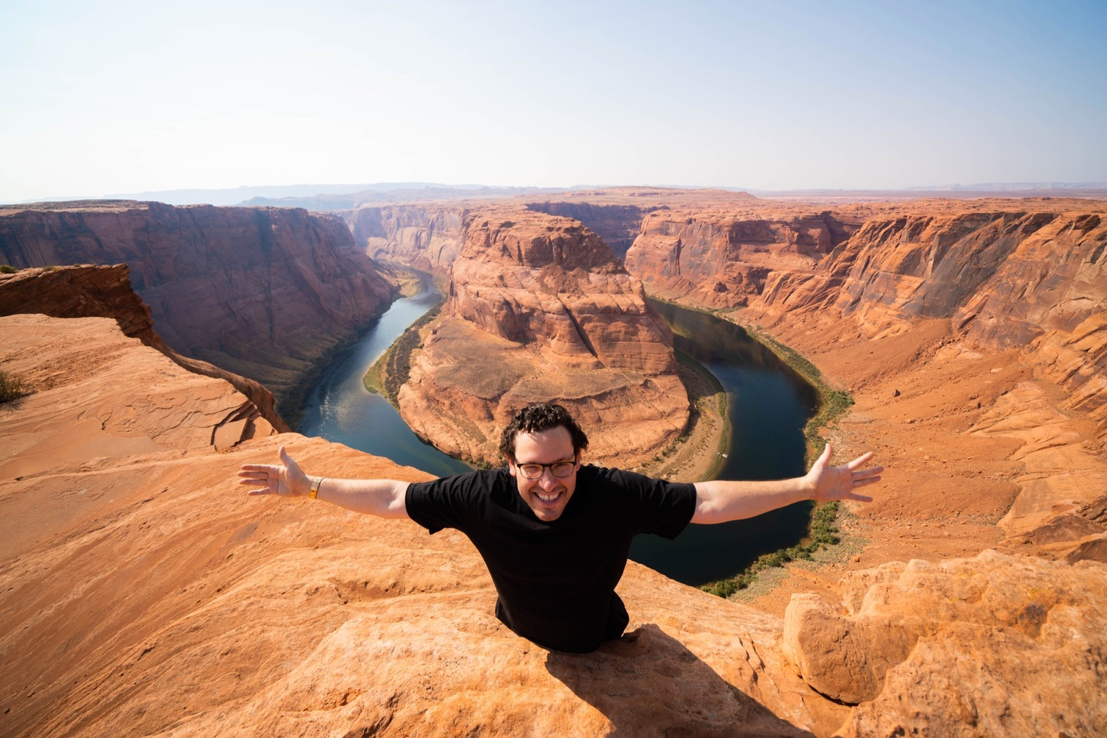 tim sykes at the Grand Canyon