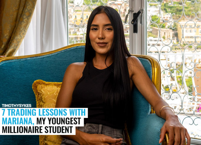 7 Trading Lessons With Mariana, My Youngest Millionaire Student